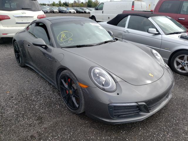 Porsche Vehiculos salvage en venta: 2017 Porsche 911 Carrer