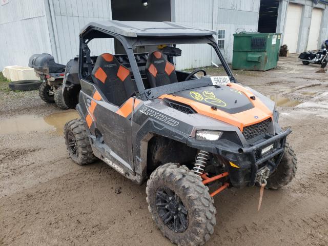 Salvage cars for sale from Copart Davison, MI: 2018 Polaris General 10