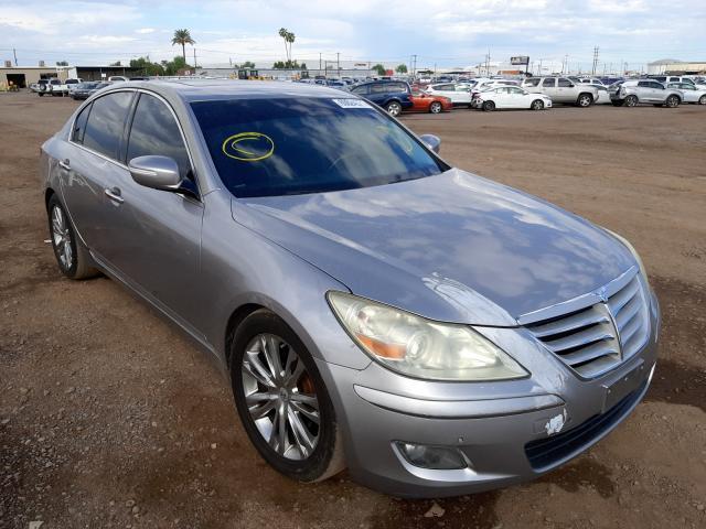 Salvage cars for sale from Copart Phoenix, AZ: 2009 Hyundai Genesis 4