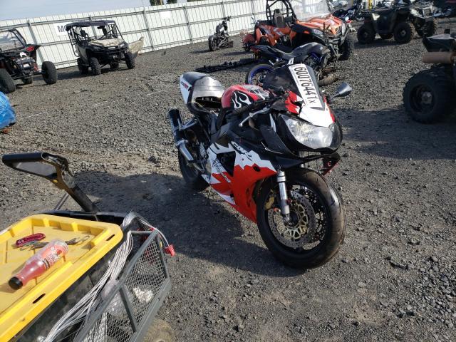 Honda CBR900 RE salvage cars for sale: 2001 Honda CBR900 RE