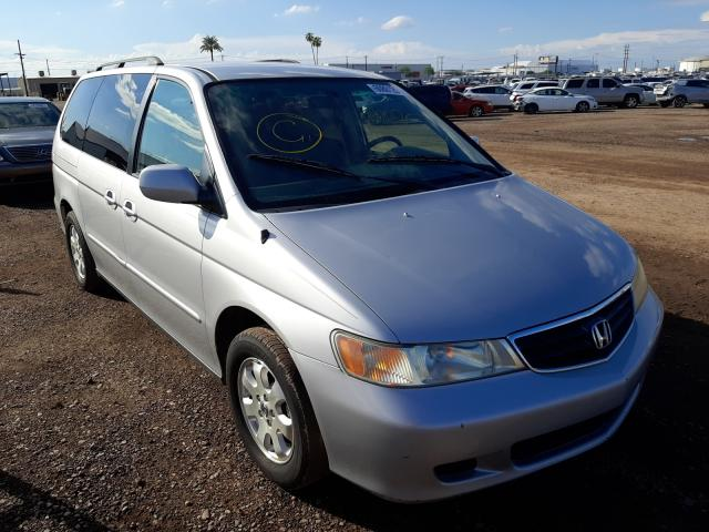 Salvage cars for sale from Copart Phoenix, AZ: 2002 Honda Odyssey EX
