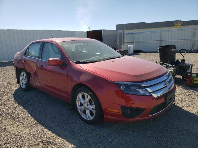 Vehiculos salvage en venta de Copart Bismarck, ND: 2012 Ford Fusion SE