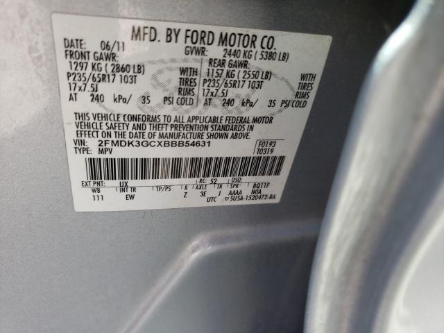 2011 FORD EDGE SE 2FMDK3GCXBBB54631