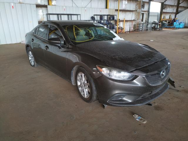 Mazda salvage cars for sale: 2016 Mazda 6 Sport