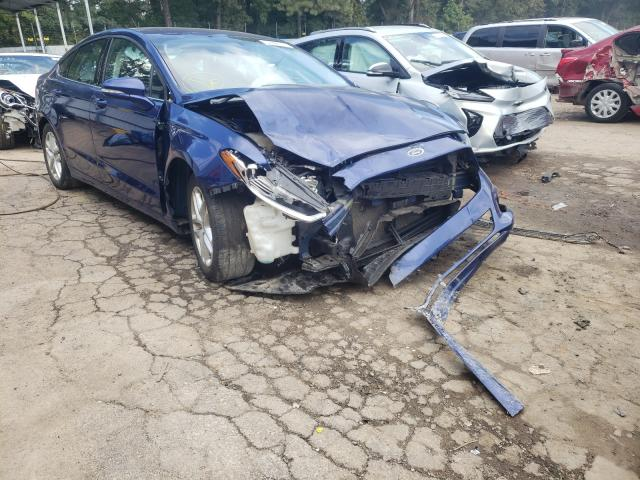 Salvage cars for sale from Copart Austell, GA: 2016 Ford Fusion SE