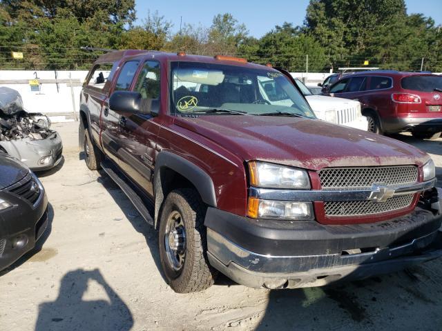 Chevrolet Silverado salvage cars for sale: 2003 Chevrolet Silverado
