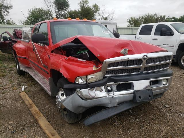 Salvage cars for sale from Copart Pekin, IL: 1999 Dodge RAM 3500