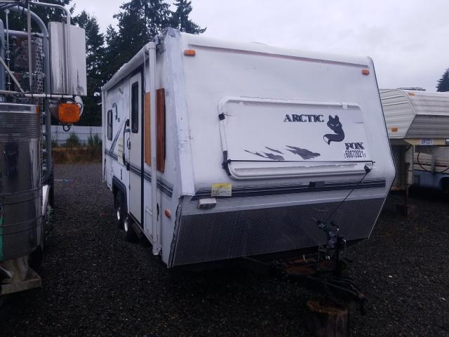 Arctic Cat salvage cars for sale: 2000 Arctic Cat Travel Trailer