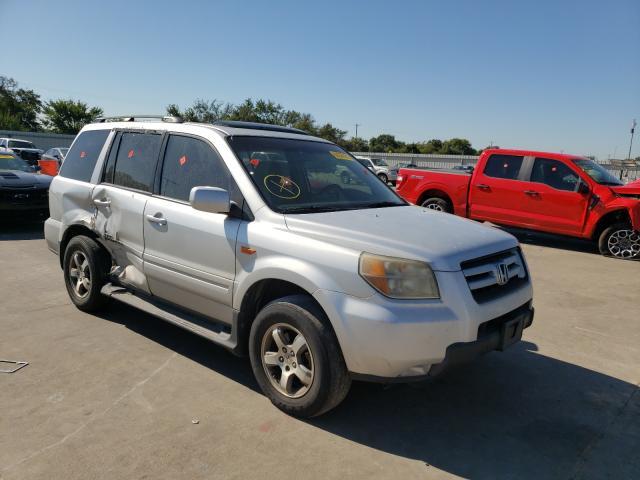 Vehiculos salvage en venta de Copart Wilmer, TX: 2007 Honda Pilot EXL