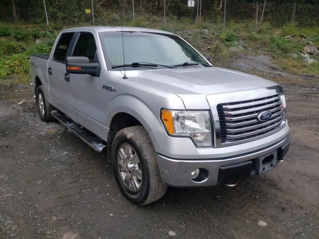 Salvage cars for sale from Copart Marlboro, NY: 2010 Ford F150 Super