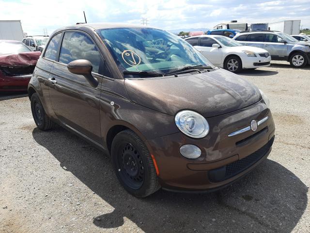 Salvage cars for sale at Tucson, AZ auction: 2012 Fiat 500 POP