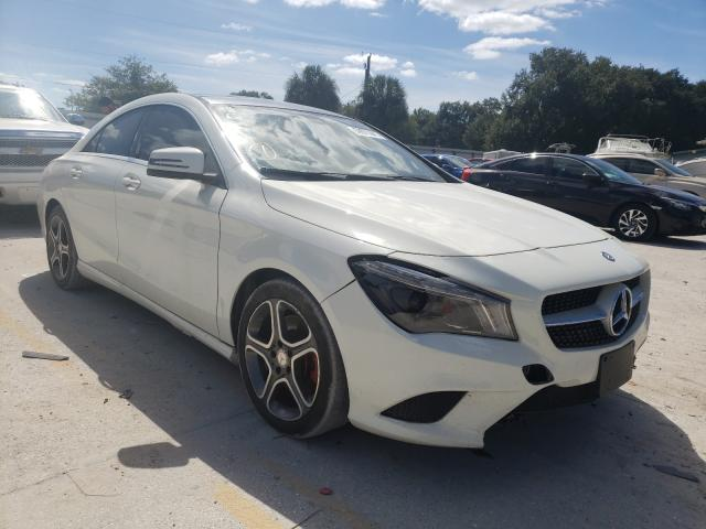 Salvage cars for sale from Copart Punta Gorda, FL: 2014 Mercedes-Benz CLA 250