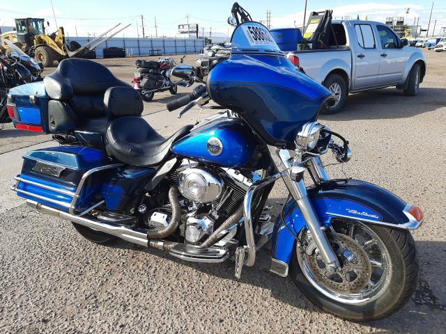 Salvage motorcycles for sale at Phoenix, AZ auction: 2004 Harley-Davidson Flhtcui