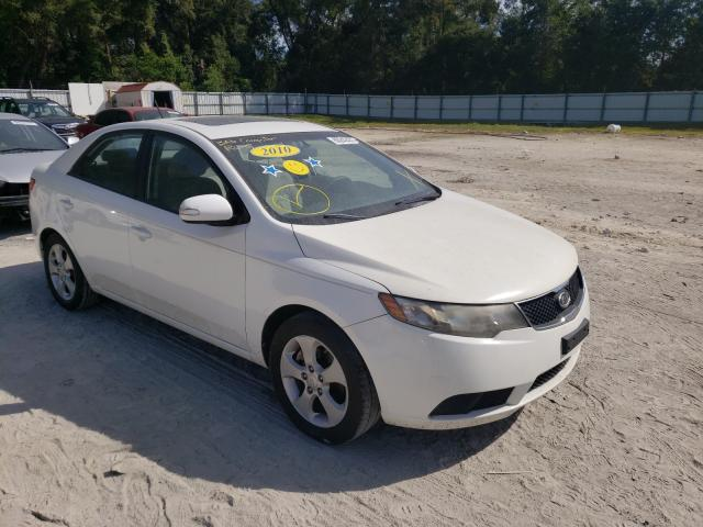 Salvage cars for sale from Copart Ocala, FL: 2010 KIA Forte EX