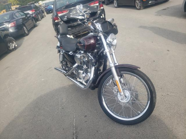 Salvage motorcycles for sale at Glassboro, NJ auction: 2005 Harley-Davidson XL1200 C