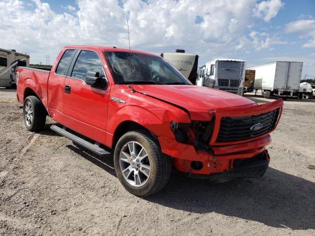 Salvage cars for sale at Tucson, AZ auction: 2014 Ford F150 Super