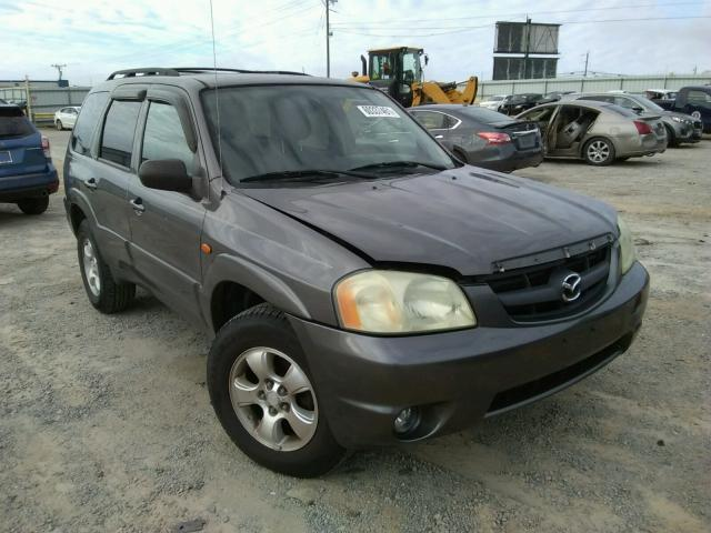 Salvage cars for sale from Copart Chatham, VA: 2003 Mazda Tribute ES