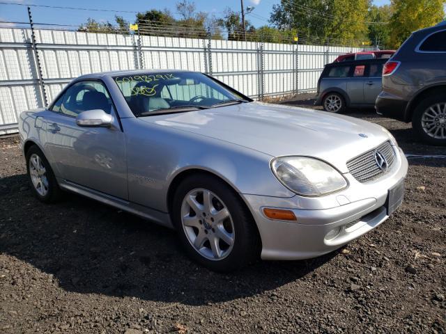 Mercedes-Benz salvage cars for sale: 2003 Mercedes-Benz SLK 230 KO
