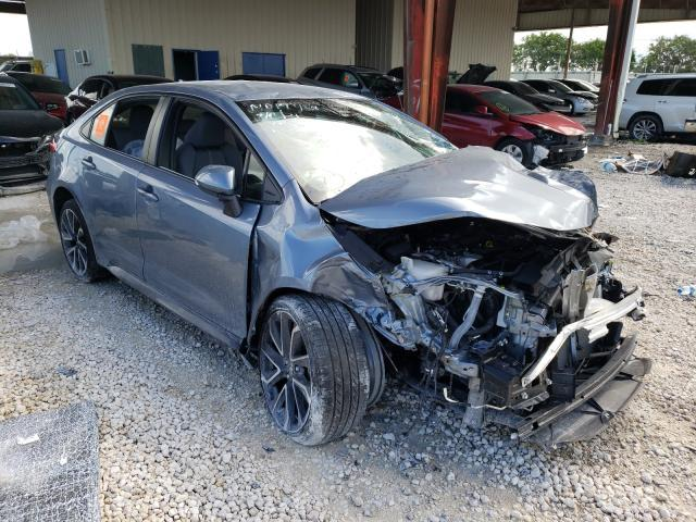 Toyota salvage cars for sale: 2020 Toyota Corolla SE