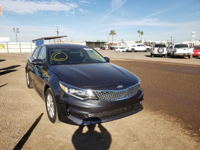 Salvage cars for sale from Copart Phoenix, AZ: 2017 KIA Optima LX