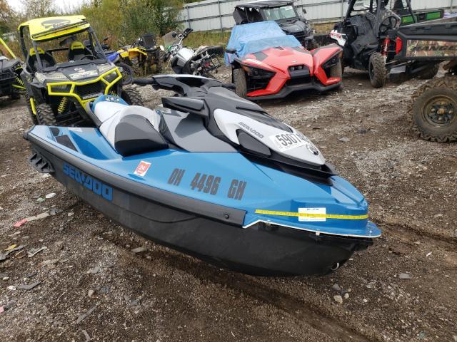 Seadoo salvage cars for sale: 2021 Seadoo GTISE130