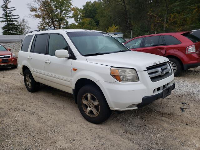 Salvage cars for sale from Copart Northfield, OH: 2007 Honda Pilot EX