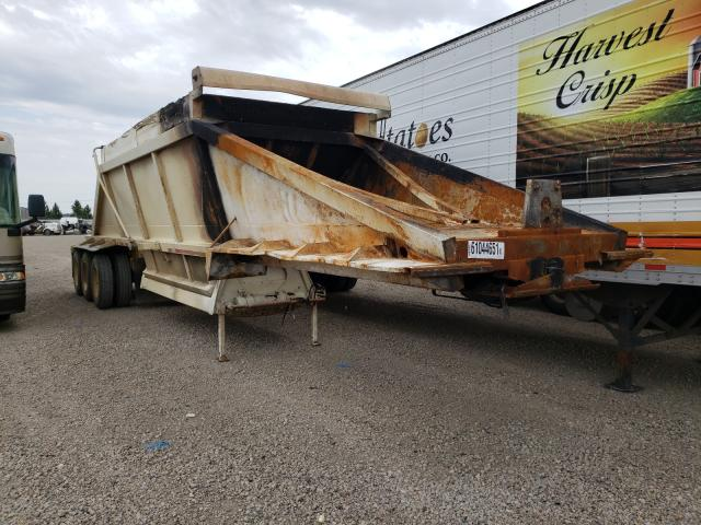 Salvage cars for sale from Copart Bismarck, ND: 1999 Other Dump Trailer