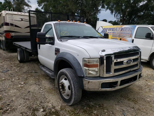 Salvage trucks for sale at Ocala, FL auction: 2008 Ford F450 Super