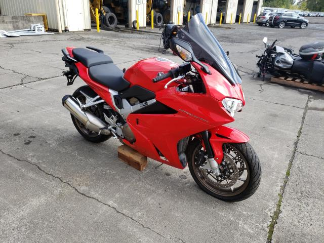 Salvage motorcycles for sale at Portland, OR auction: 2015 Honda VFR800 F