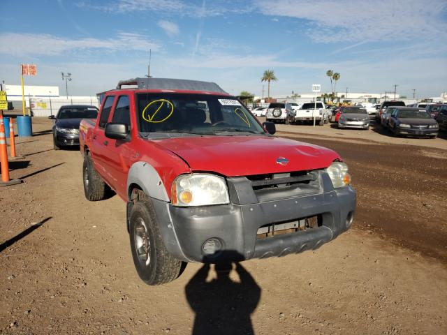 Salvage cars for sale from Copart Phoenix, AZ: 2001 Nissan Frontier C