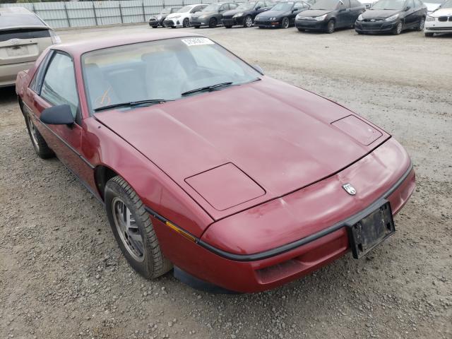 Pontiac Fiero salvage cars for sale: 1987 Pontiac Fiero