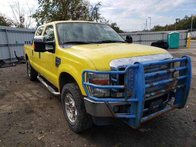 Salvage cars for sale from Copart West Mifflin, PA: 2008 Ford F250 Super
