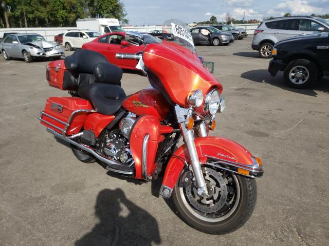 Salvage cars for sale from Copart Dunn, NC: 2008 Harley-Davidson Flhtcu ULT