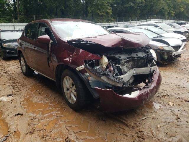 Salvage cars for sale from Copart Austell, GA: 2012 Nissan Murano S