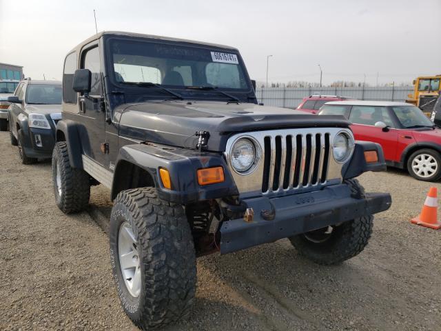 Jeep Vehiculos salvage en venta: 2002 Jeep Wrangler