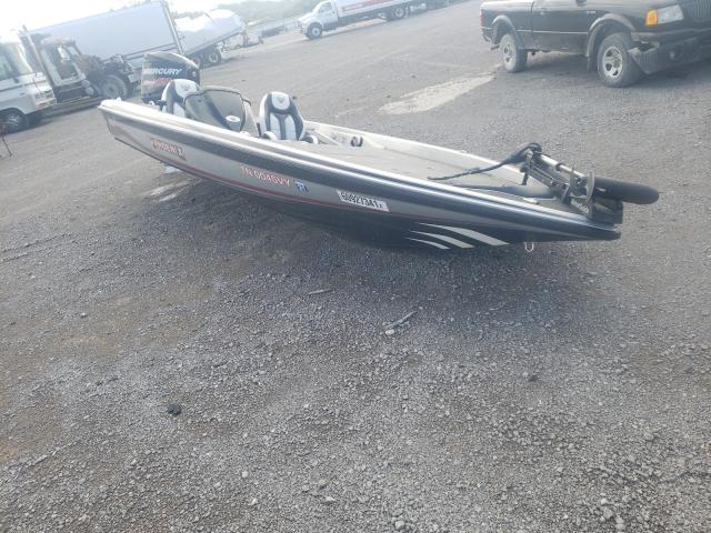 Salvage boats for sale at Lebanon, TN auction: 2017 Phoenix Boat
