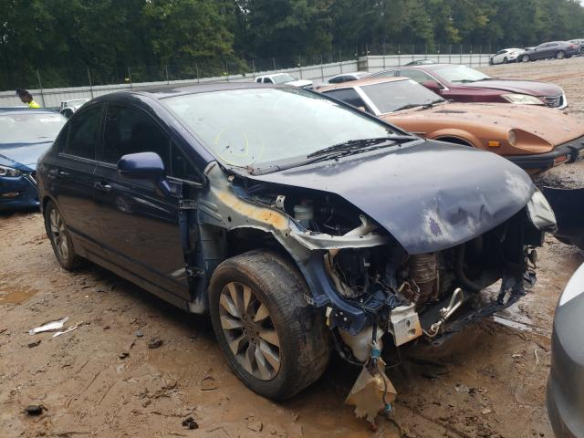 Salvage cars for sale from Copart Austell, GA: 2010 Honda Civic EXL