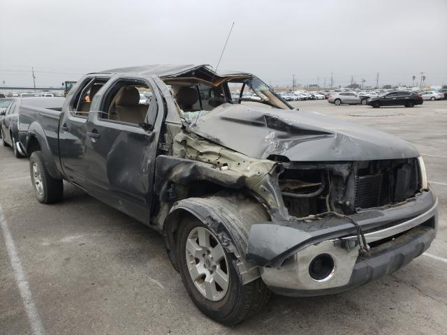 Salvage cars for sale from Copart Sun Valley, CA: 2007 Nissan Frontier C