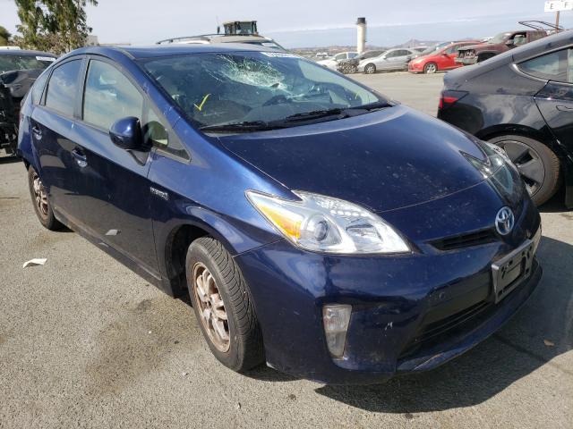 Vehiculos salvage en venta de Copart Martinez, CA: 2015 Toyota Prius
