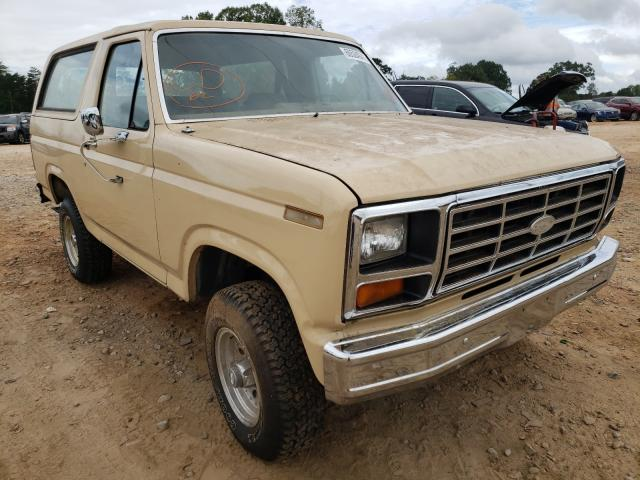 FORD BRONCO 1983 0