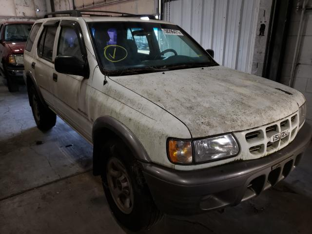 Salvage cars for sale at Woodburn, OR auction: 2002 Isuzu Rodeo S