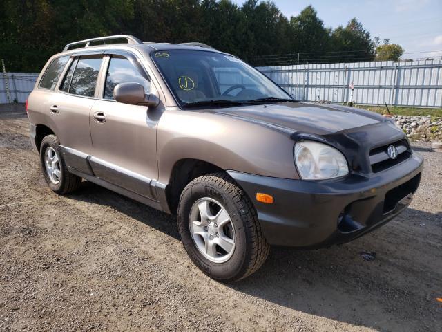 Hyundai Santa FE salvage cars for sale: 2005 Hyundai Santa FE