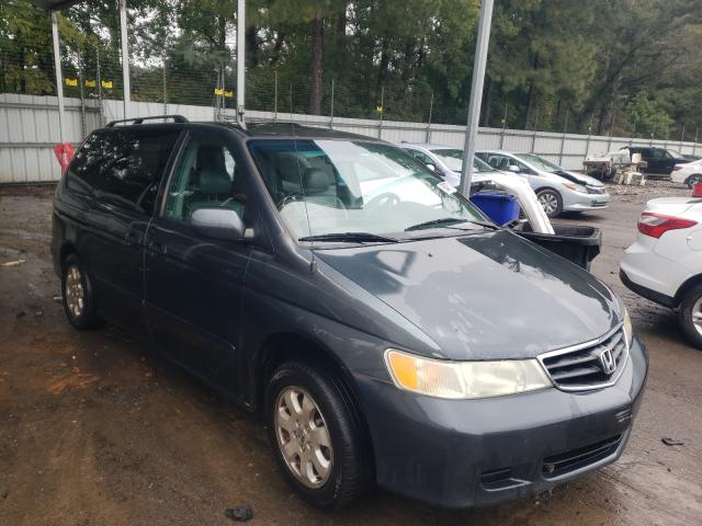 Salvage cars for sale from Copart Austell, GA: 2004 Honda Odyssey EX