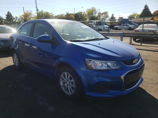 Salvage cars for sale from Copart Denver, CO: 2019 Chevrolet Sonic LT