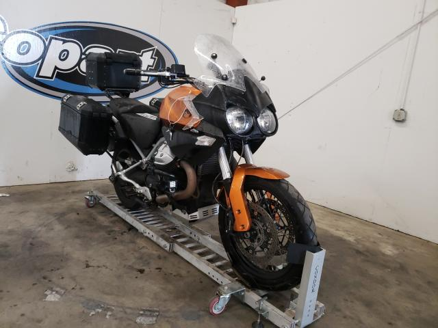 Salvage motorcycles for sale at Portland, OR auction: 2013 Moto Guzzi Stelvio 12