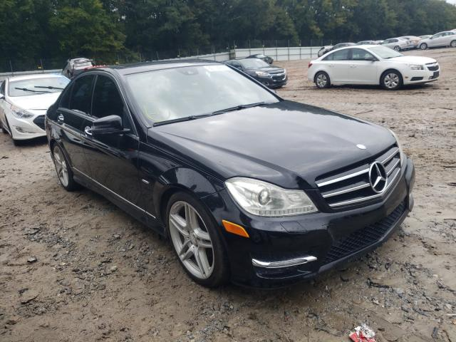 Salvage cars for sale from Copart Austell, GA: 2012 Mercedes-Benz C 250