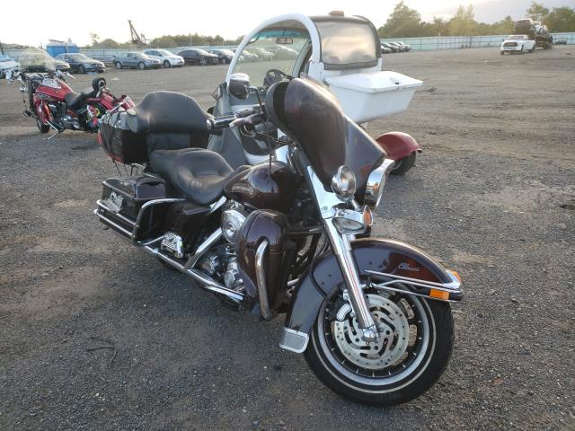 Salvage motorcycles for sale at Brookhaven, NY auction: 2006 Harley-Davidson Flhtci
