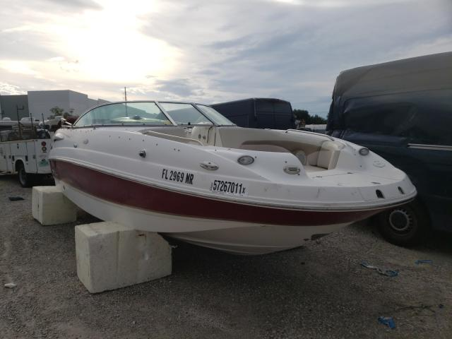 Salvage boats for sale at Apopka, FL auction: 2004 Chapparal 234