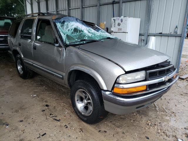 Chevrolet Blazer salvage cars for sale: 2001 Chevrolet Blazer