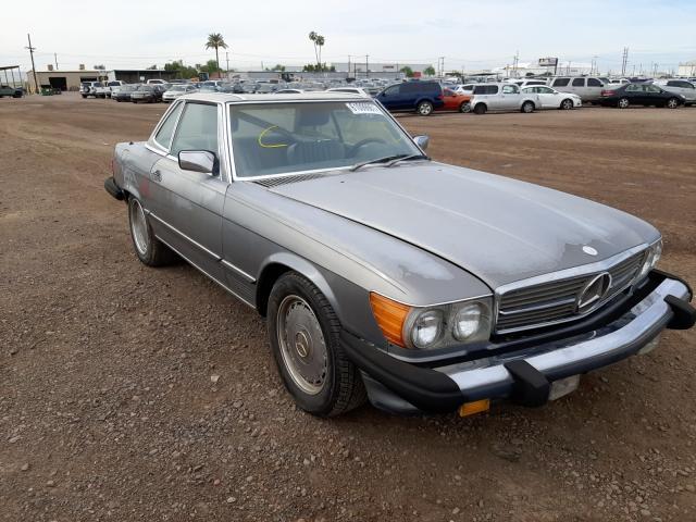 Salvage cars for sale from Copart Phoenix, AZ: 1988 Mercedes-Benz 560 SL